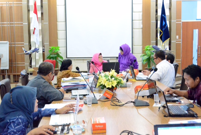 CENTRAL JAVA RESEARCHERS JOINED MONEV IN UDINUS