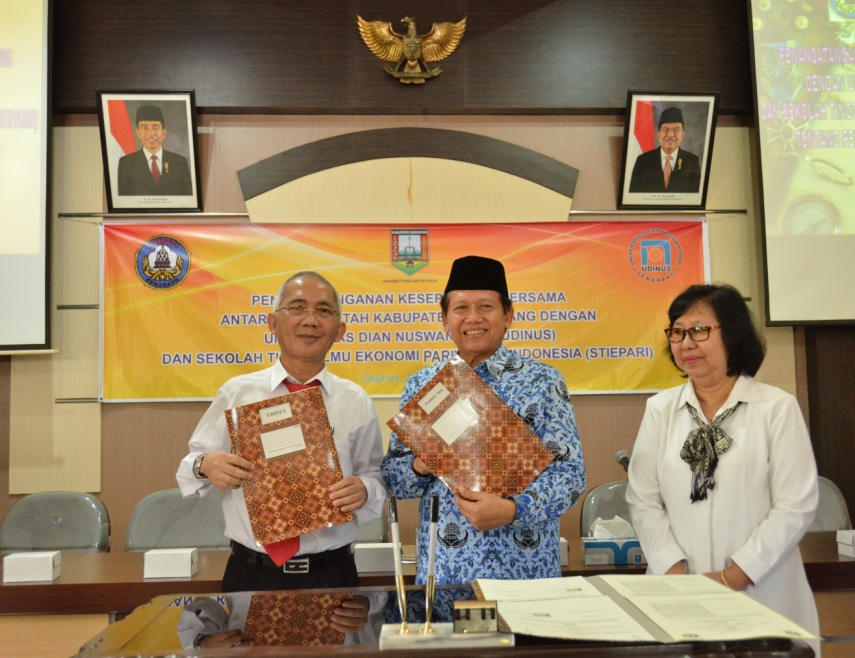 SEMARANG REGENCY GOVERNMENT WANTS TO GO-INTERNATIONAL AS UDINUS