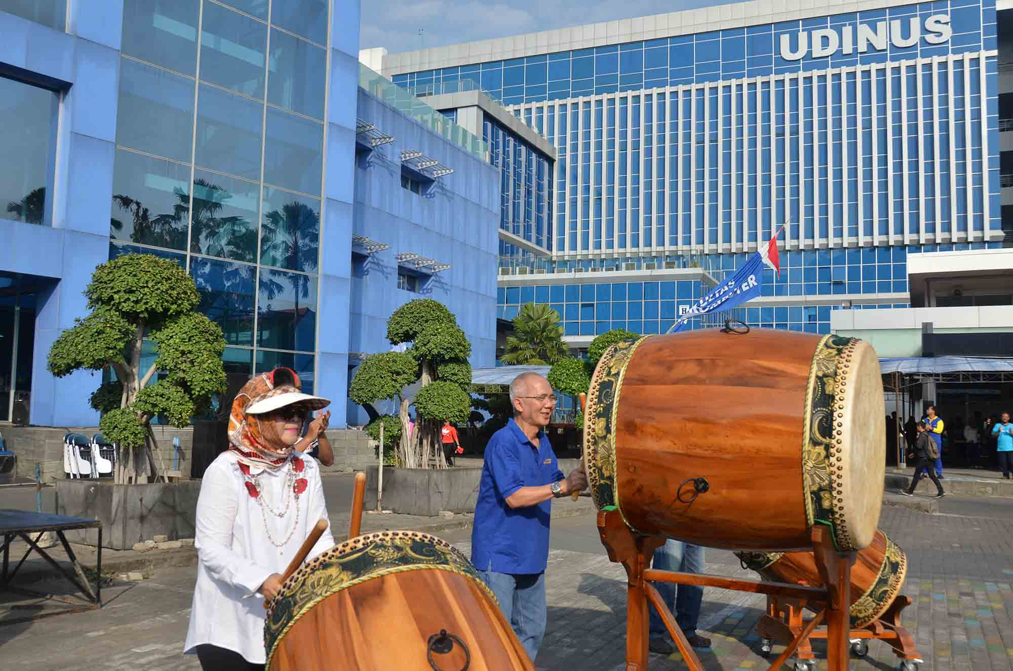 UDINUS CELEBRATES THE 73rd INDEPENDENCE DAY OF INDONESIA