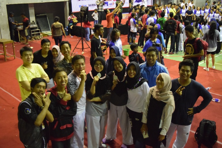 UDINUS TAEKWONDO OBTAINS THREE MEDALS