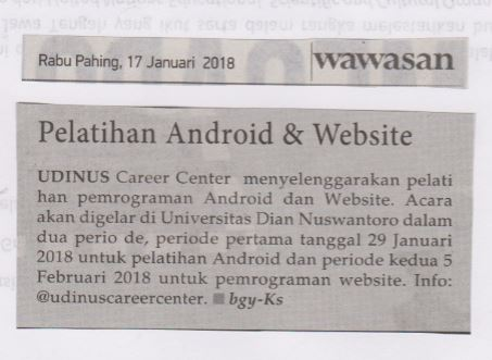 Pelatihan Android & Website