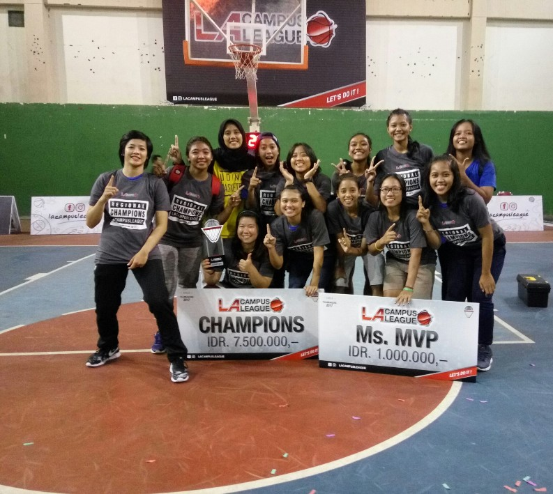 DEFEAT UGM, UDINUS WOMEN'S BASKETBALL TEAM IS GOING TO THE NATIONAL LEVEL