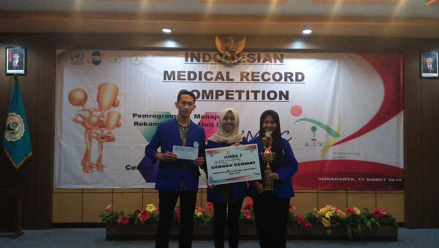 RMIK UDINUS BECOMES THE RUNNER UP AT NATIONAL LEVEL COMPETITION