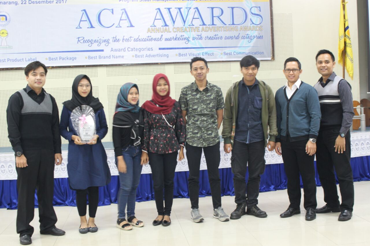 UDINUS' ACA AWARDS APPRECIATE STUDENTS' WORK