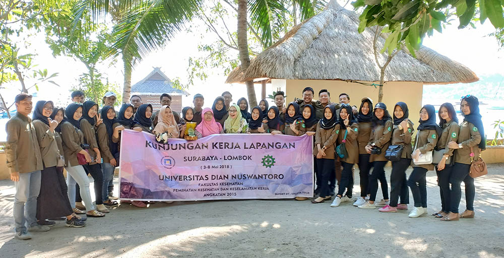 UDINUS' PUBLIC HEALTH STUDENTS CONDUCT KKL TO EAST JAVA & LOMBOK