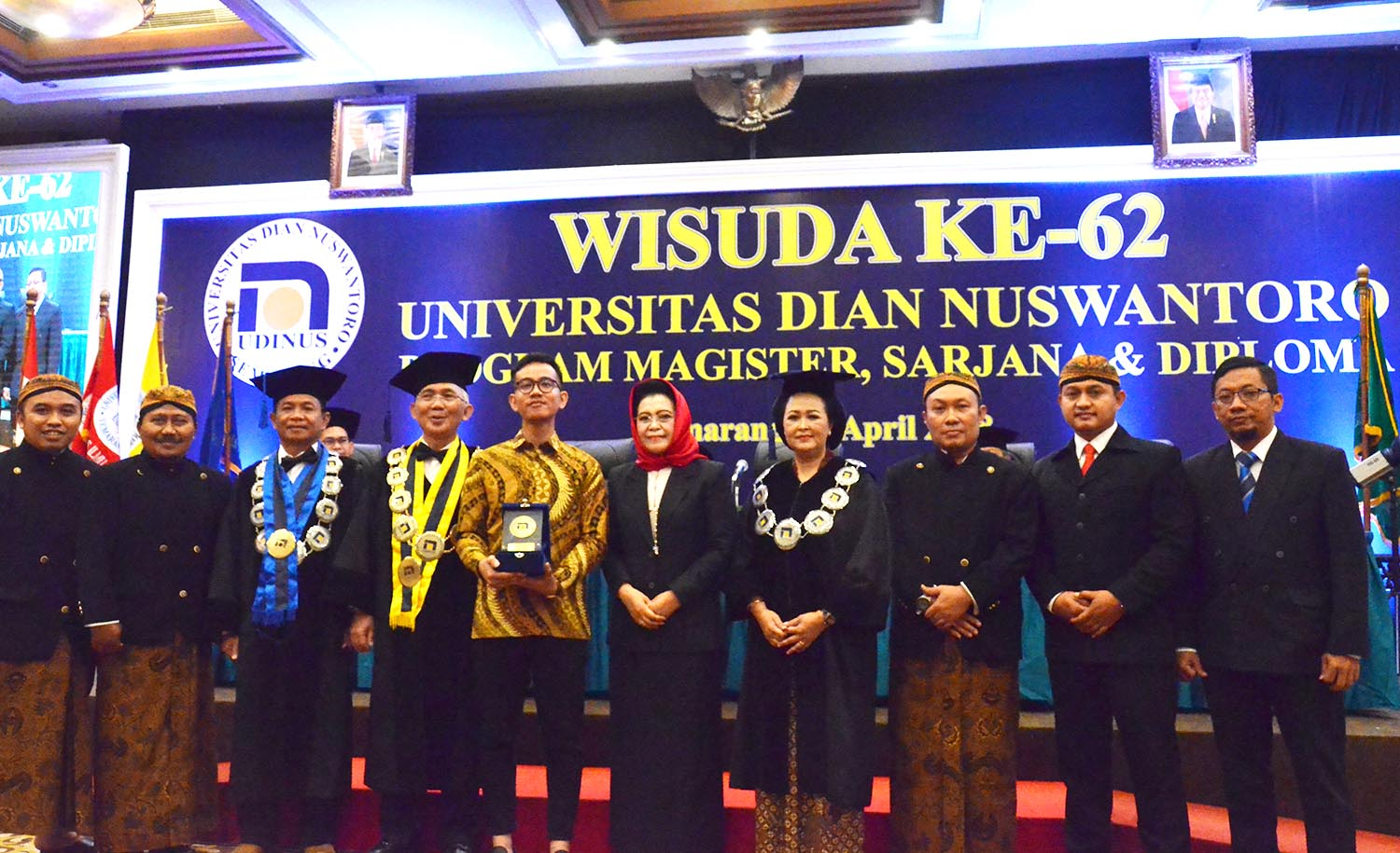 THE 62ND GRADUATION OF UDINUS