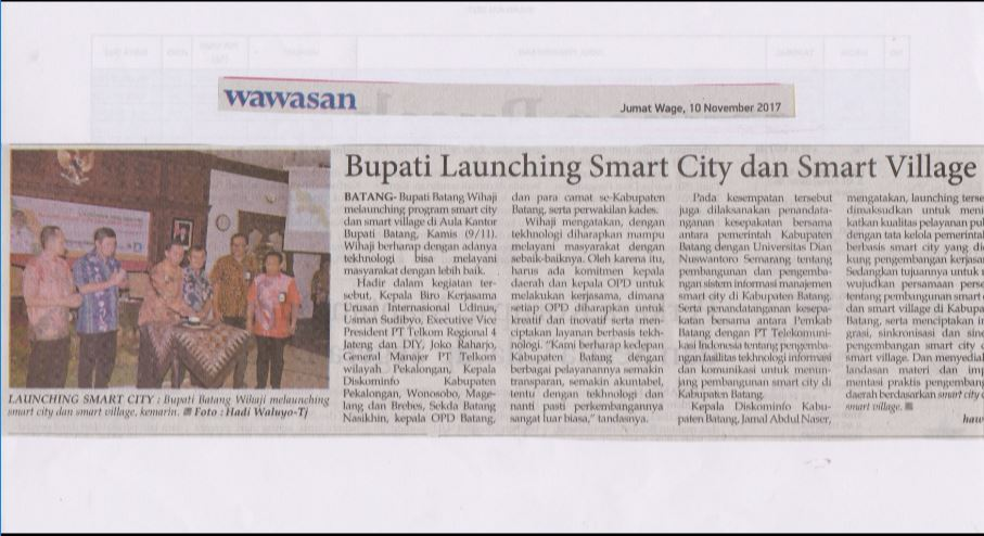 Bupati Launching Smart City dan Smart Village