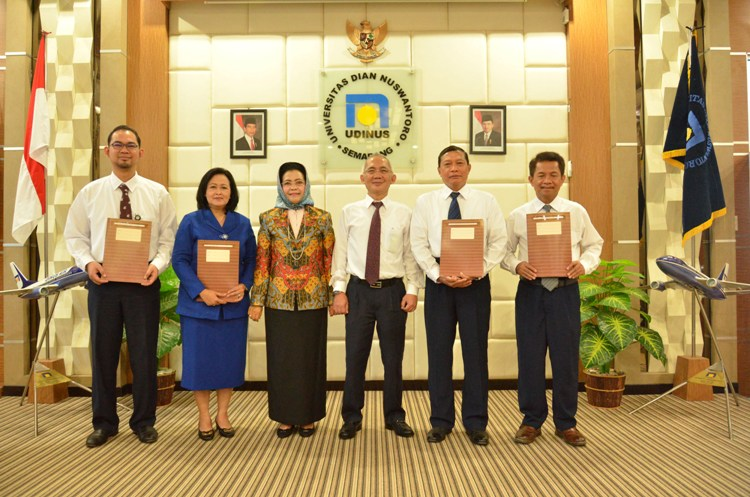 THE HANDOVER (SERTIJAB) OF NEW OFFICERS IN UDINUS