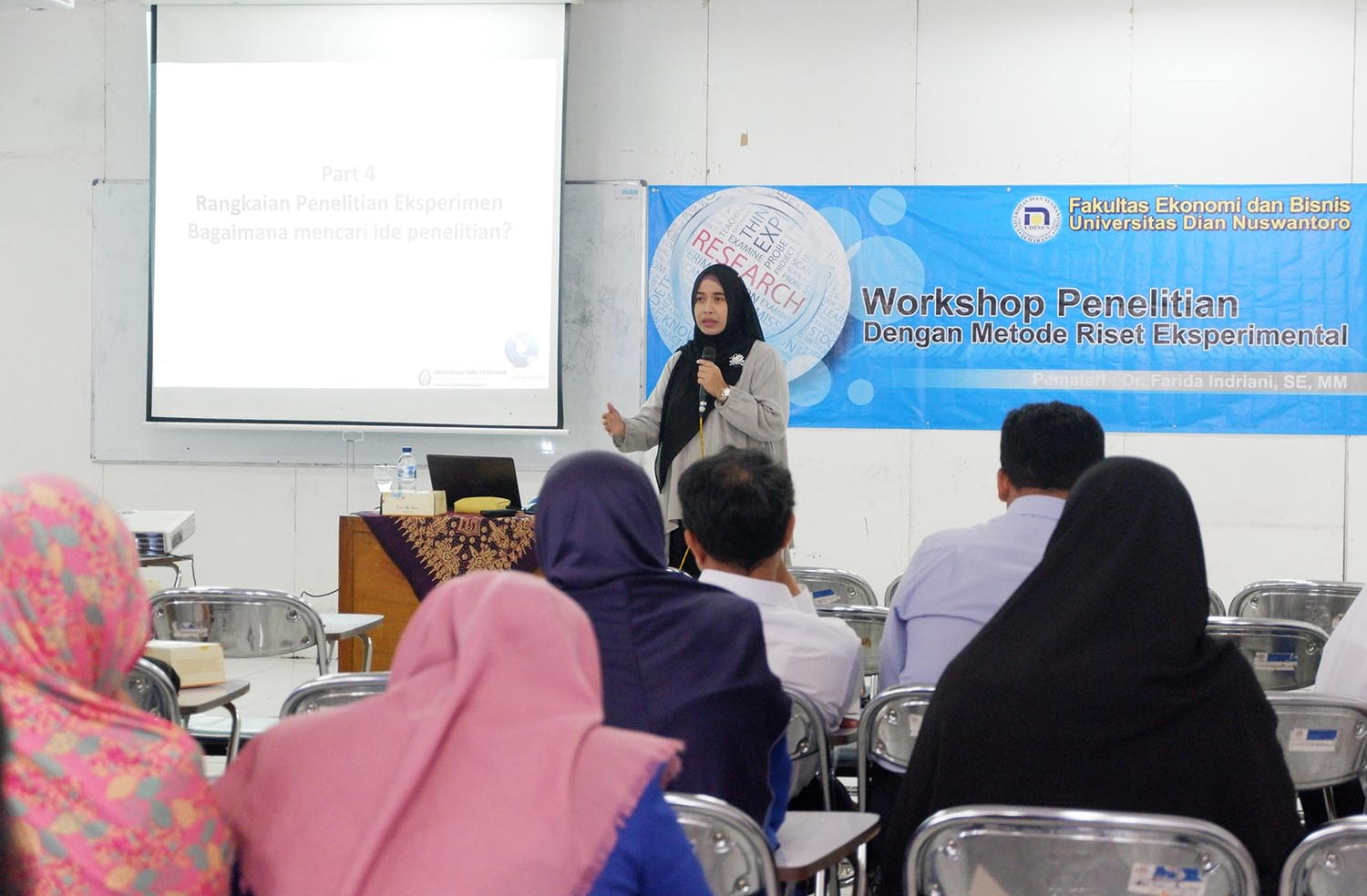 FEB UDINUS MOTIVATES ITS LECTURERS TO IMPROVE THEIR RESEARCH