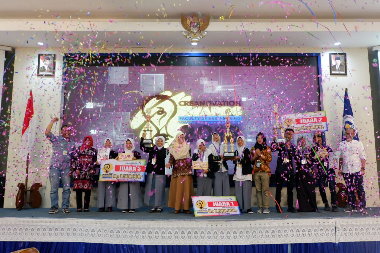 7 SENIOR HIGH SCHOOL BULUKUMBA OF SULAWESI BECOMES THE WINNER OF CREANOVATION AWARD 2018