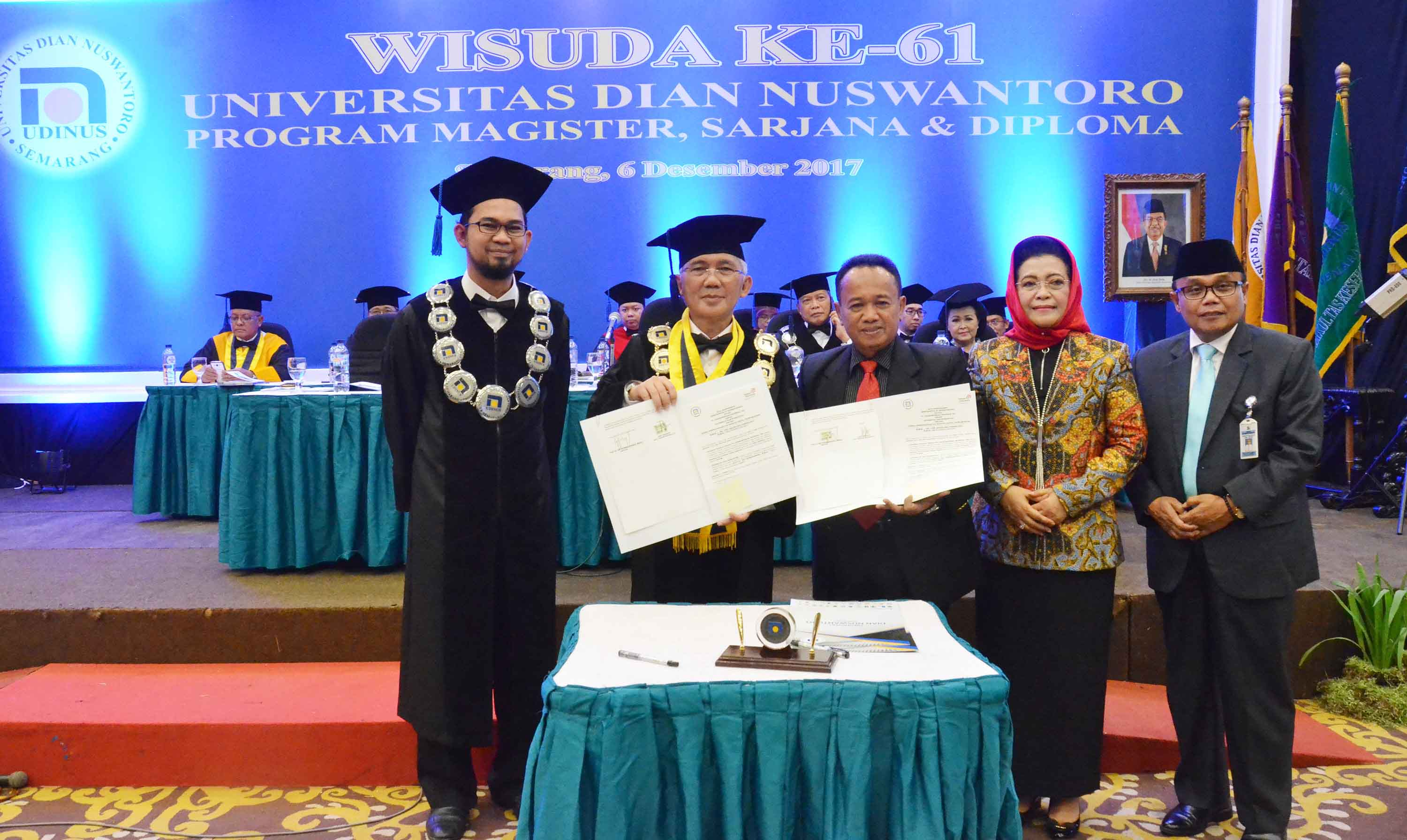 UDINUS RELEASES 742 GRADUATES ON THE 61ST GRADUATION