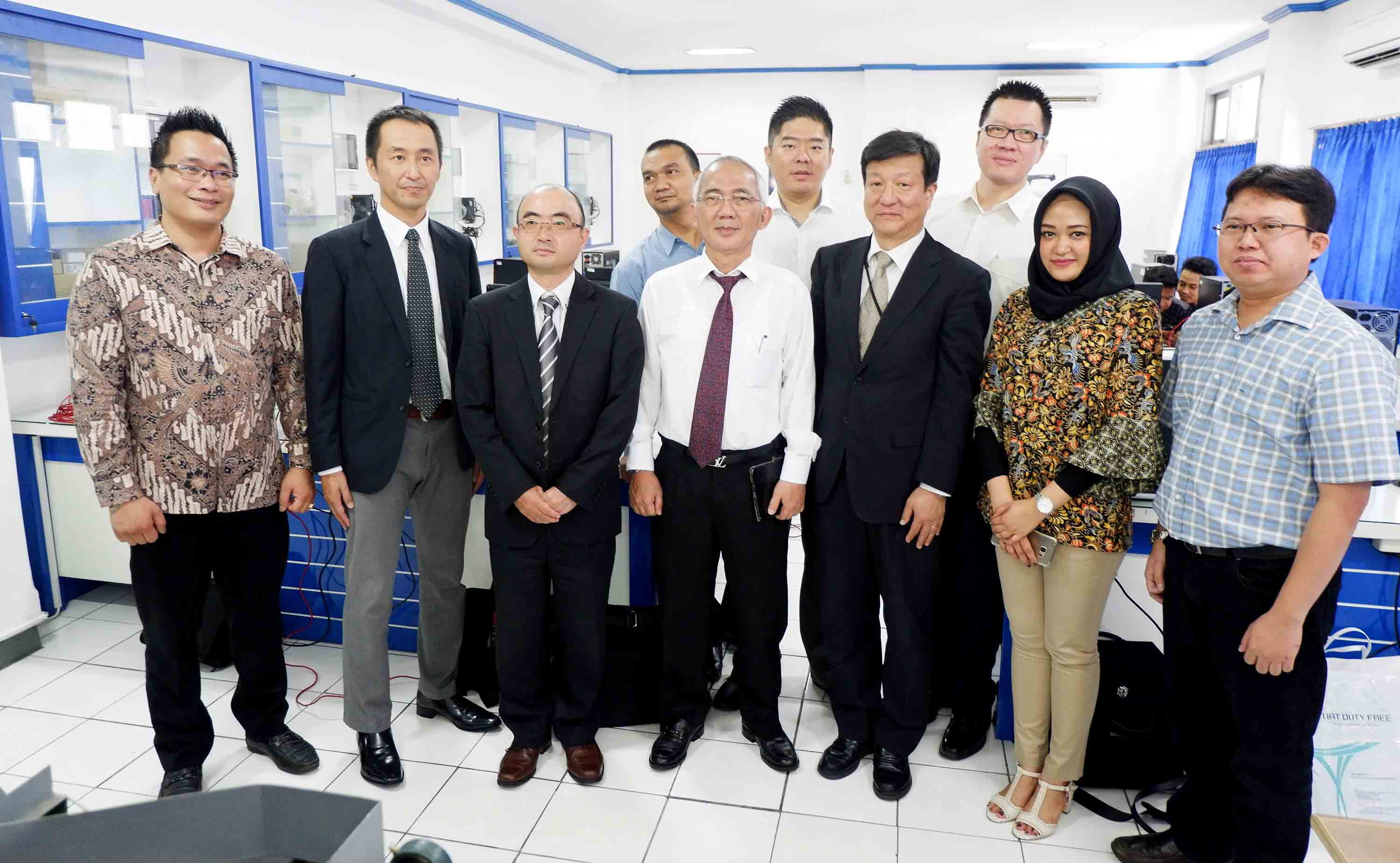 UDINUS INAUGURATED MITSUBISHI TRAINING CENTER
