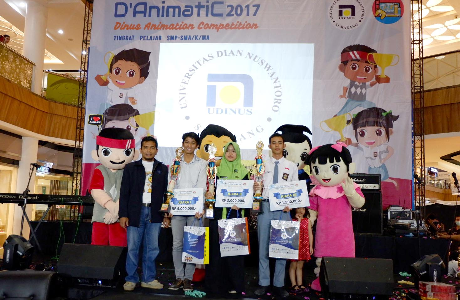 YOUNG ANIMATORS OF D'ANIMATIC