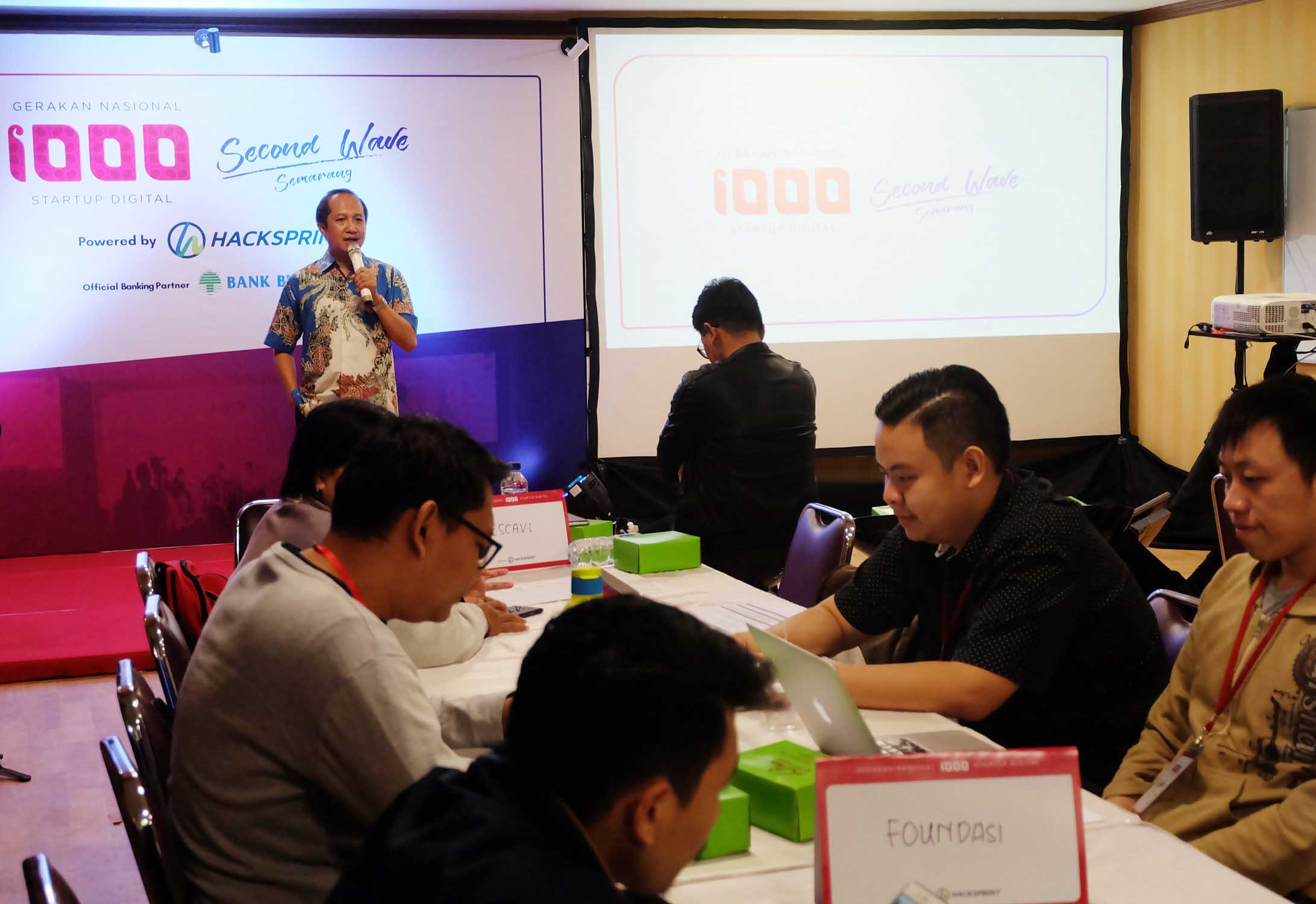 UDINUS WELCOMES HACKSPRINT PARTICIPANTS OF KOMINFO
