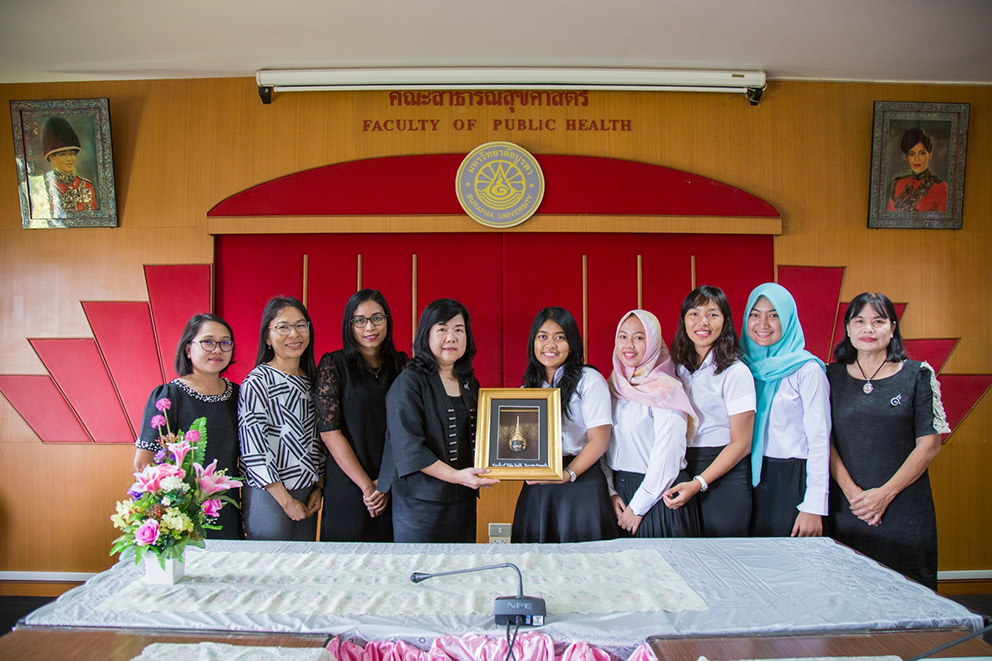 UDINUS' PUBLIC HEALTH REALIZES THE STUDENT MOBILITY IN BURAPHA UNIVERSITY OF THAILAND