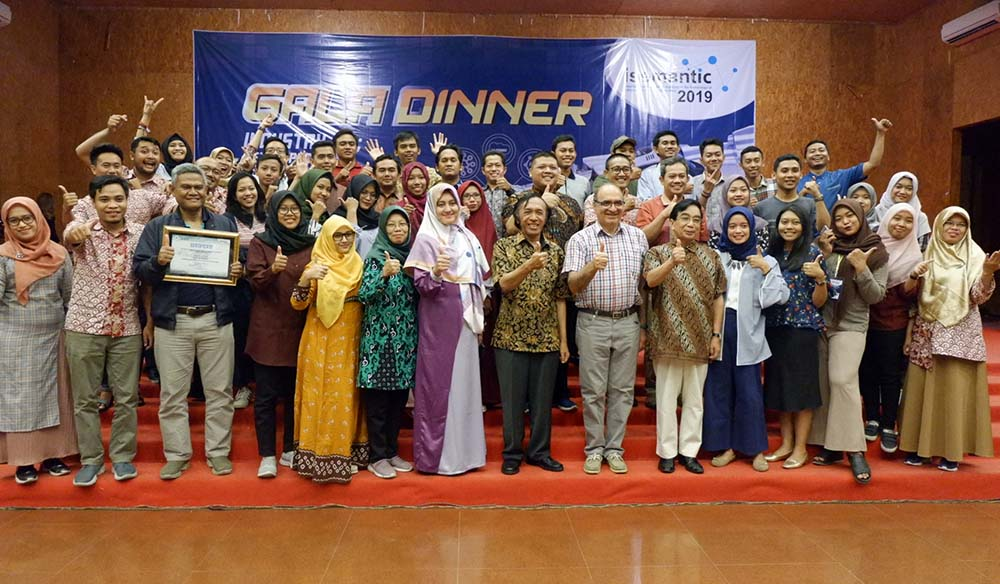 GALA DINNER TUTUP ACARA ISEMANTIC 2019