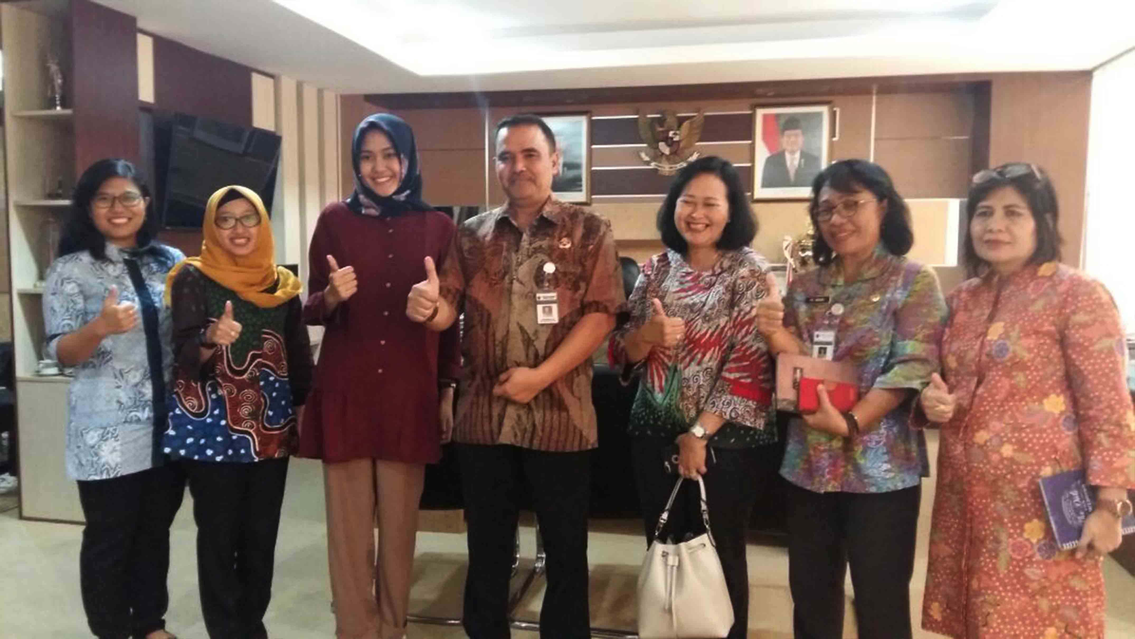DINDA IS READY TO PROMOTE TOURISM SITES IN CENTRAL JAVA