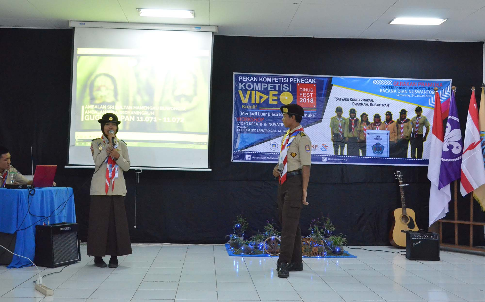 THE CREATIVITY OF SCOUT AND THE SKILL OF KSR IN DINUSFEST 2018