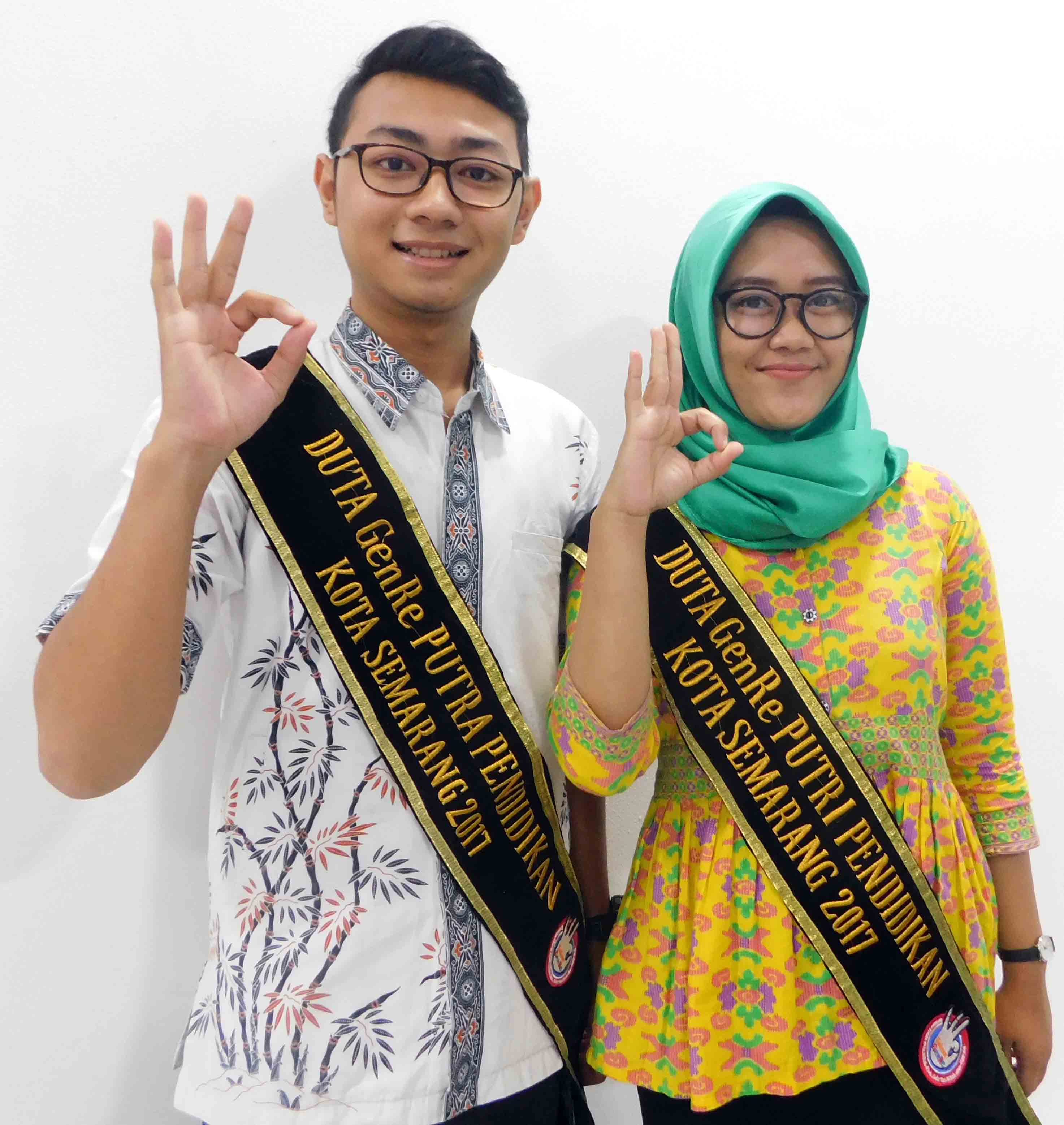 SEMARANG GENRE AMBASSADOR FROM UDINUS FKES IS GOING TO PROVINCIAL LEVEL